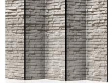 Paraván - Brick Wall: Minimalism II [Room Dividers]